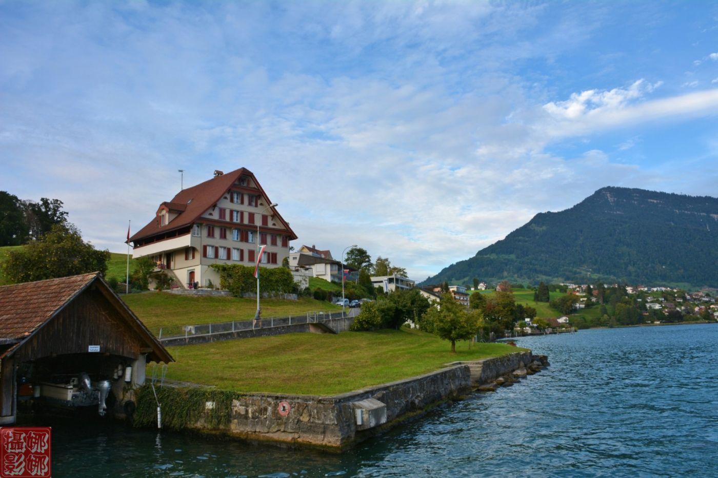瑞士卢塞恩湖畔风光(二)_图1-6