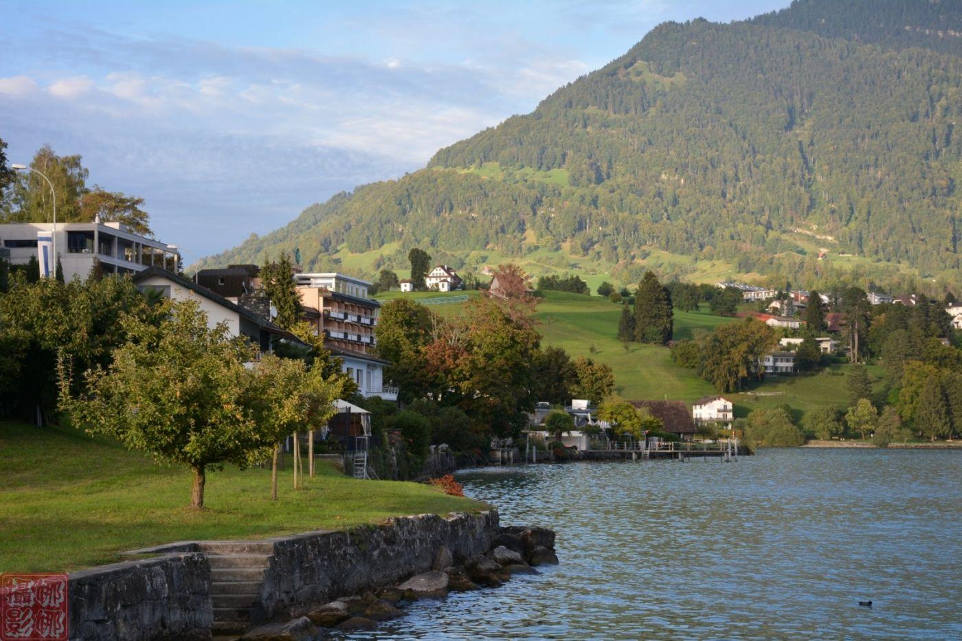 瑞士卢塞恩湖畔风光(二)_图1-8