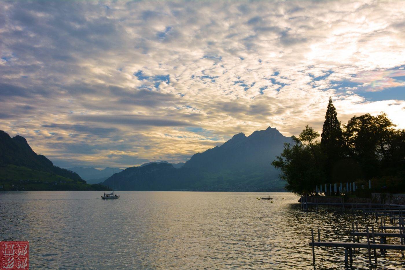 瑞士卢塞恩湖畔风光(二)_图1-10