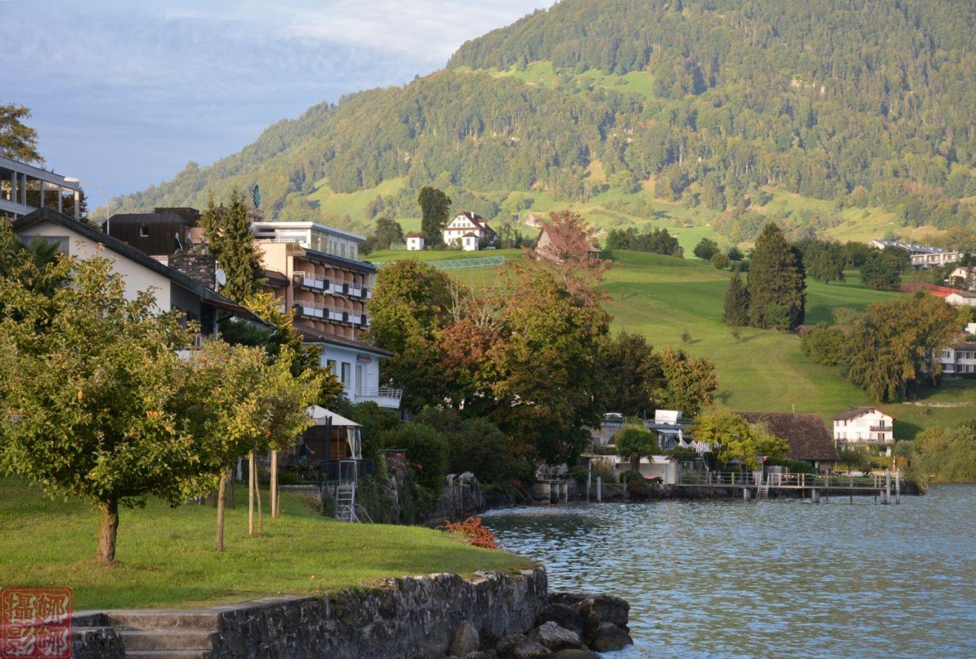 瑞士卢塞恩湖畔风光(二)_图1-9
