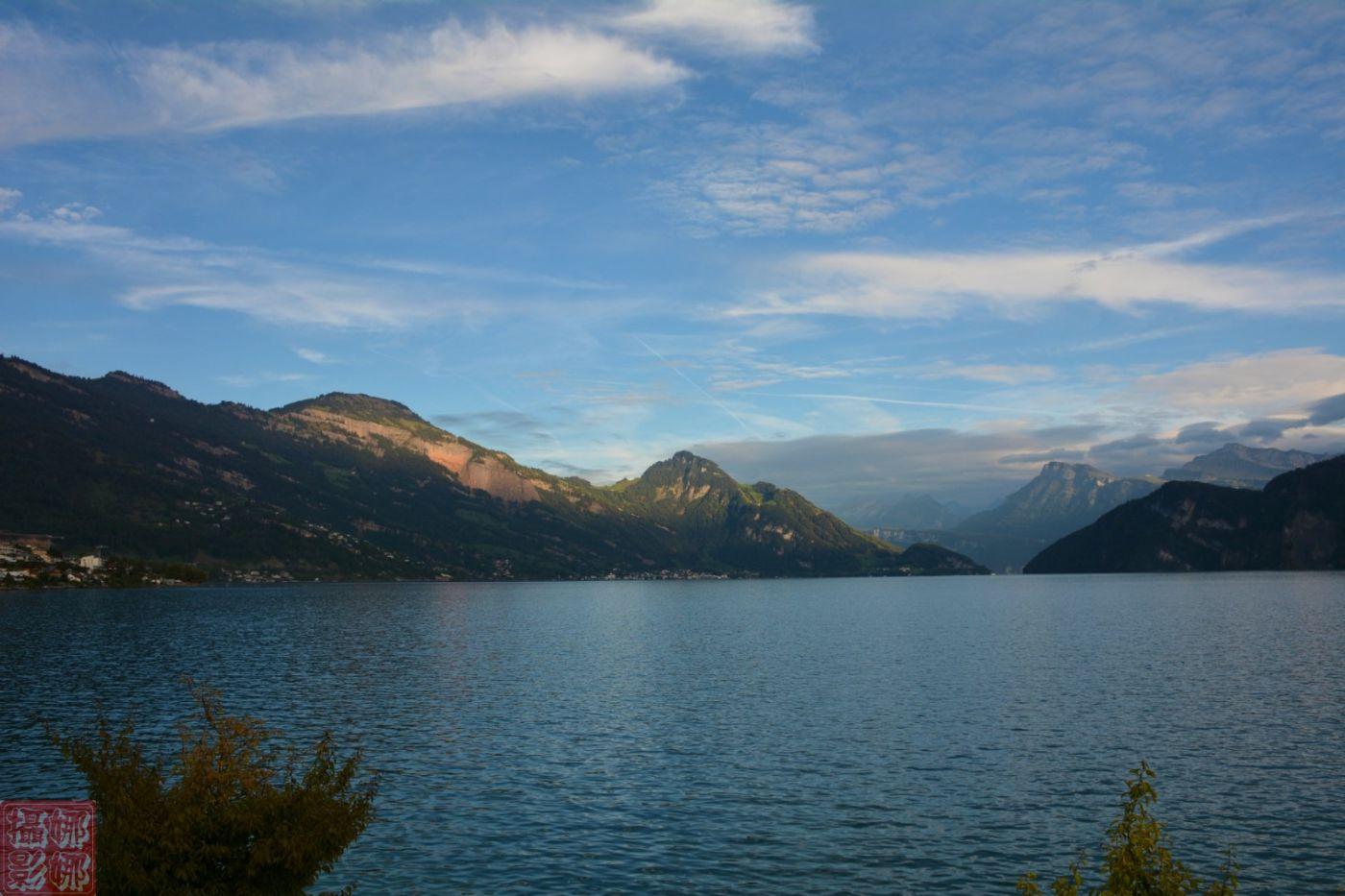 瑞士卢塞恩湖畔风光(二)_图1-11