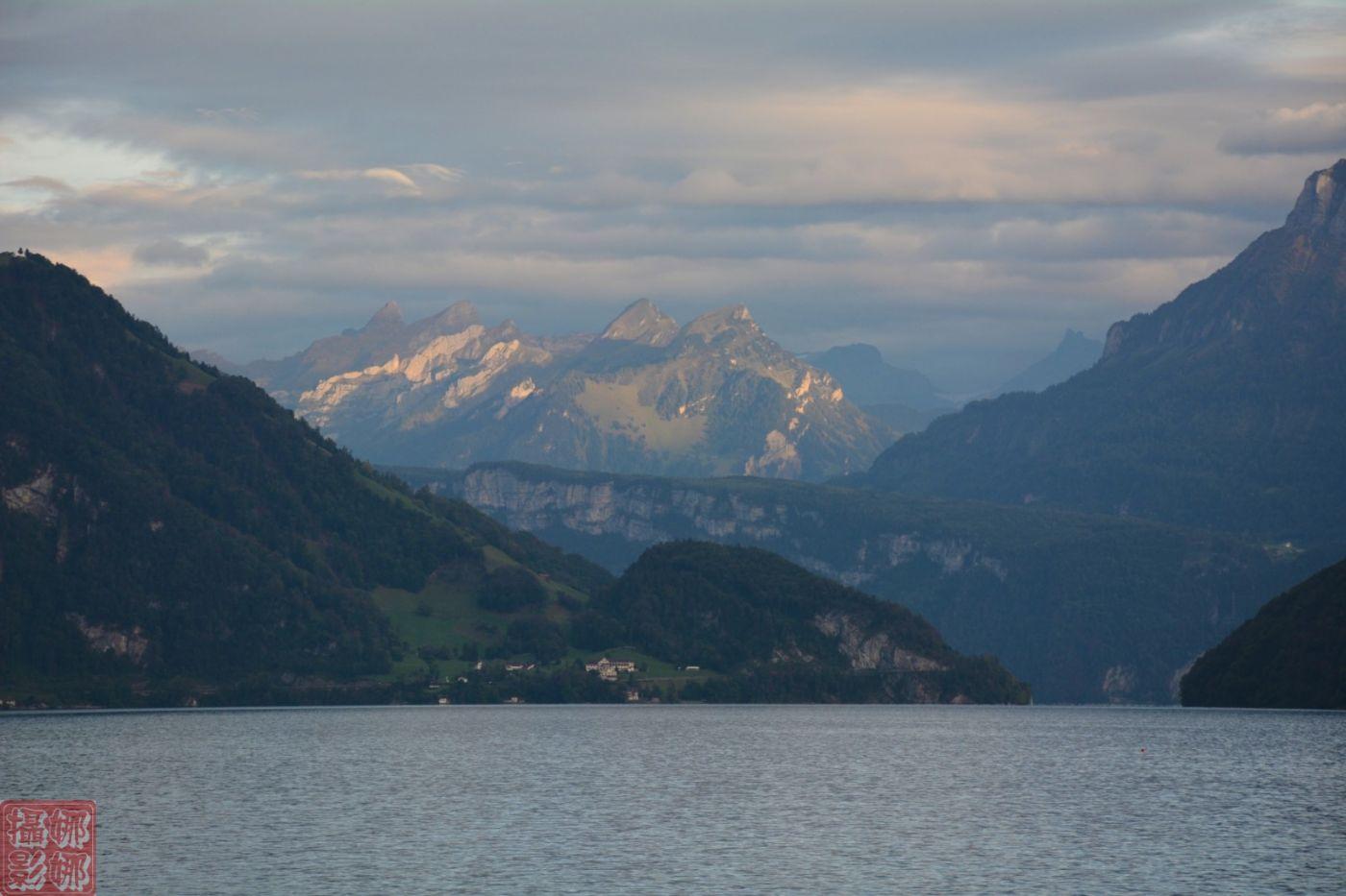 瑞士卢塞恩湖畔风光(二)_图1-12