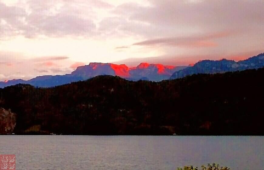 瑞士卢塞恩湖畔风光(二)_图1-16