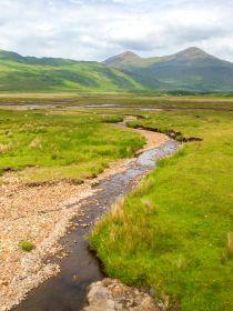 苏格兰美景,高山平原小溪小道