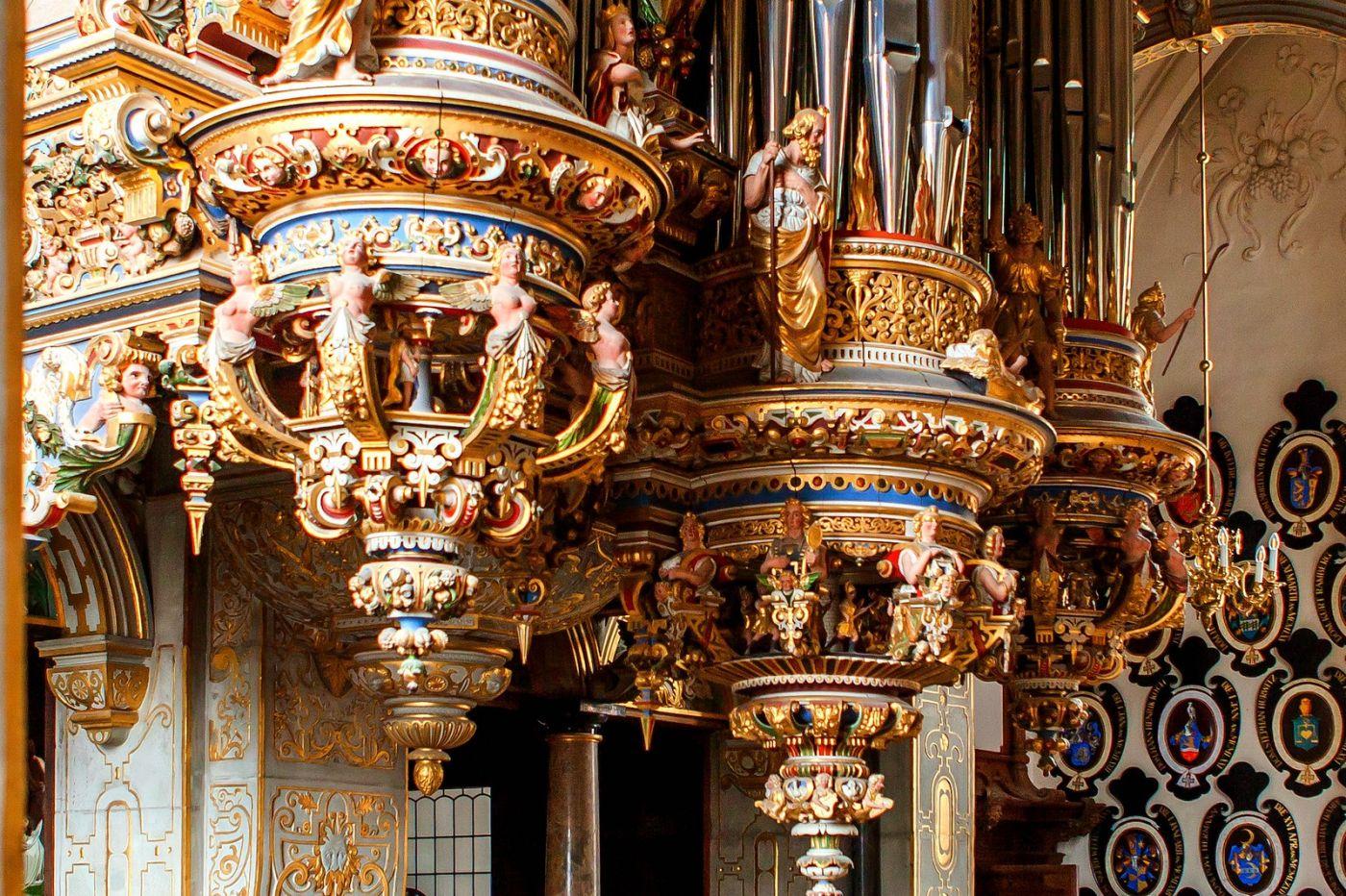 丹麦腓特烈堡城堡,很惊叹主厅吊顶_图1-10