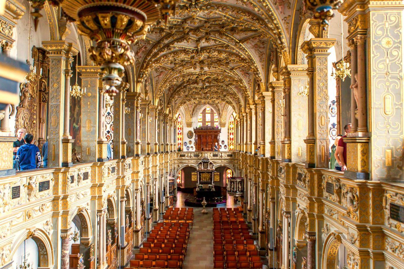 丹麦腓特烈堡城堡,很惊叹主厅吊顶_图1-15