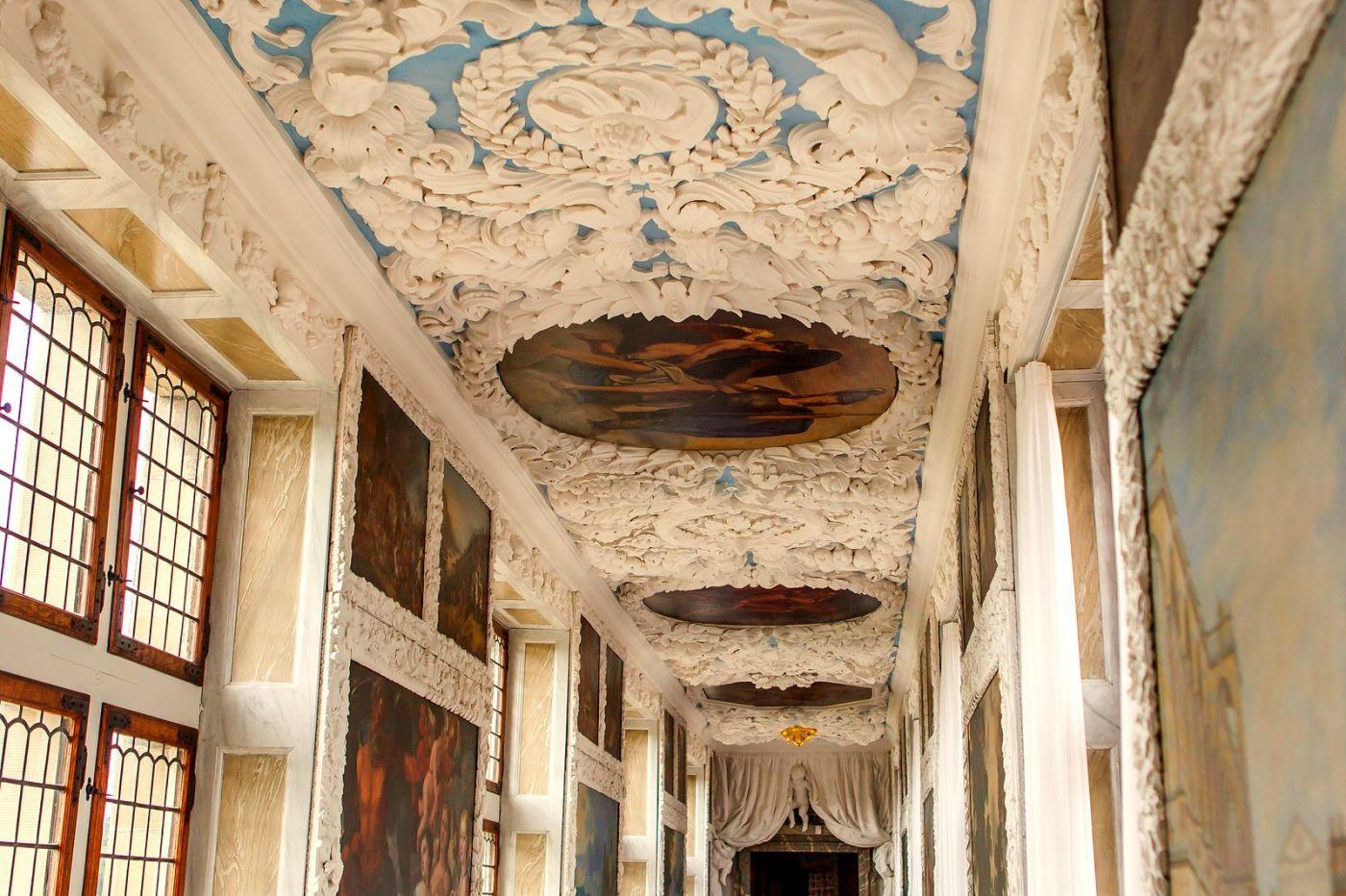 丹麦腓特烈堡城堡,很惊叹主厅吊顶_图1-13