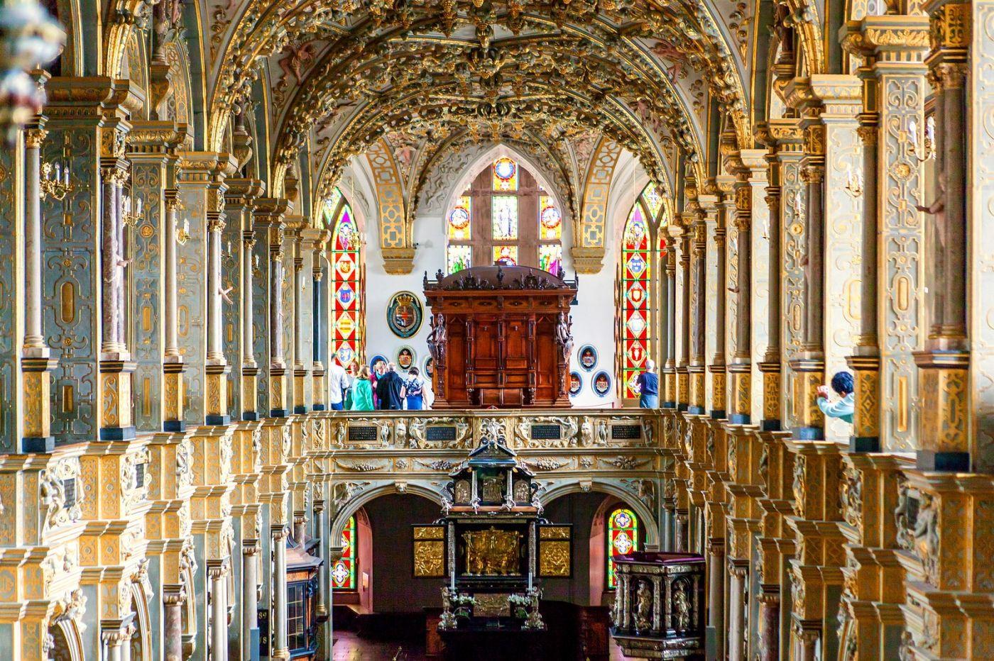丹麦腓特烈堡城堡,很惊叹主厅吊顶_图1-18