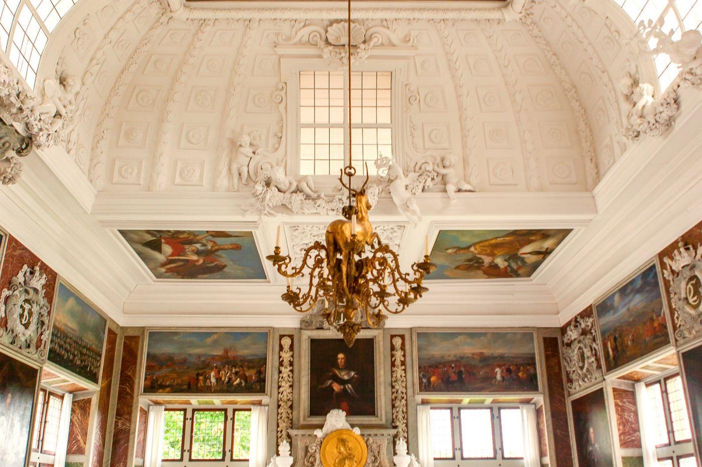 丹麦腓特烈堡城堡,很惊叹主厅吊顶_图1-19