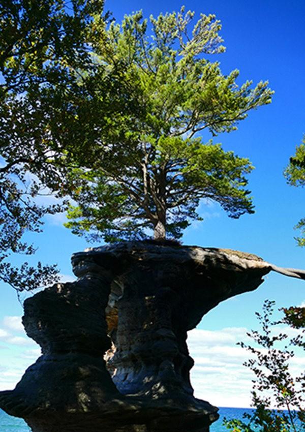 图画岩在密西根_图1-4
