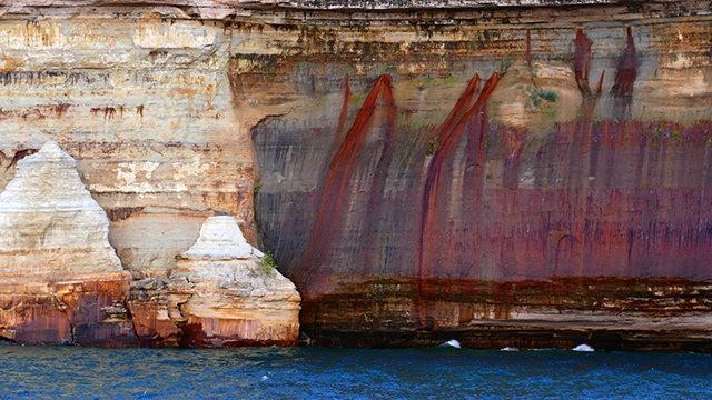 图画岩在密西根_图1-18
