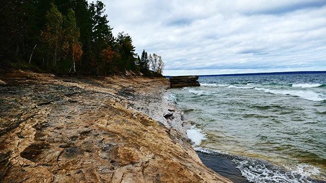 图画岩在密西根_图1-25