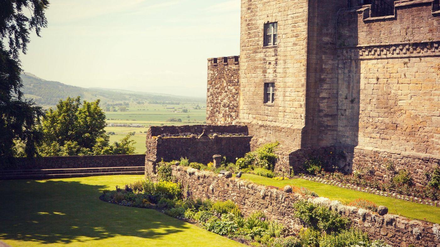 苏格兰斯特灵城堡,炮台林立防守坚固_图1-7