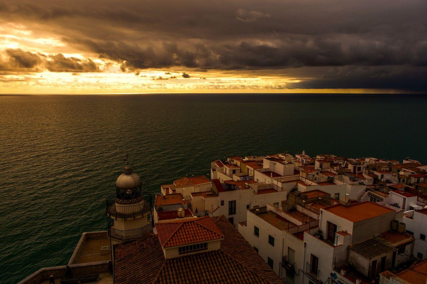 西班牙佩尼伊斯科拉(Peniscola),海边的景色令人神往_图1-10
