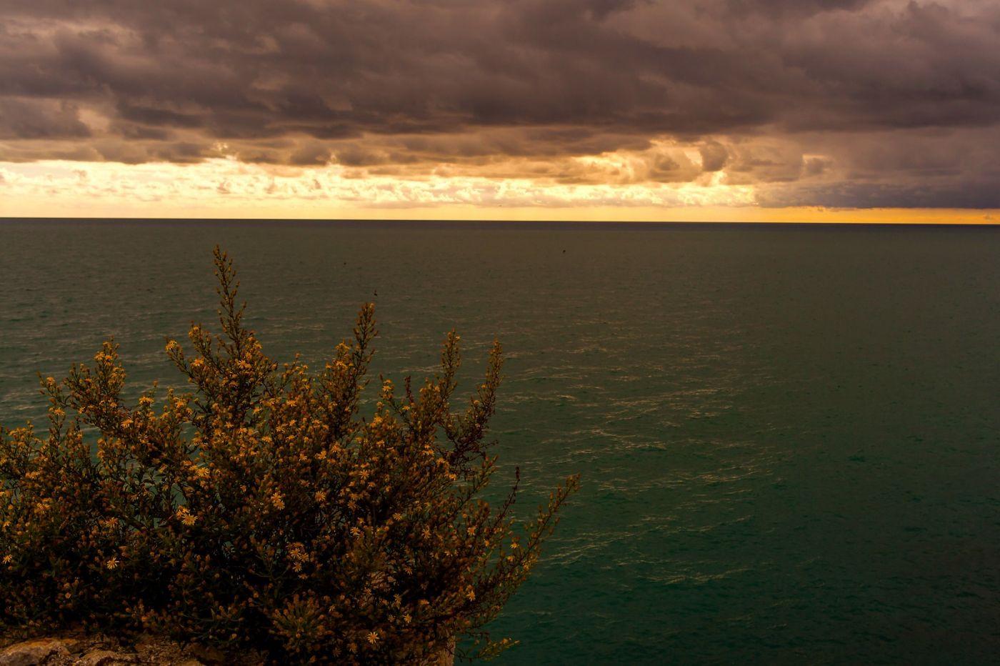 西班牙佩尼伊斯科拉(Peniscola),海边的景色令人神往_图1-9
