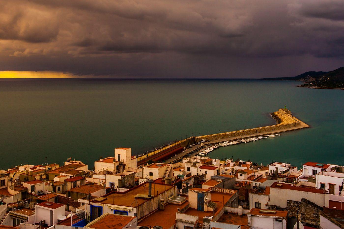 西班牙佩尼伊斯科拉(Peniscola),海边的景色令人神往_图1-5