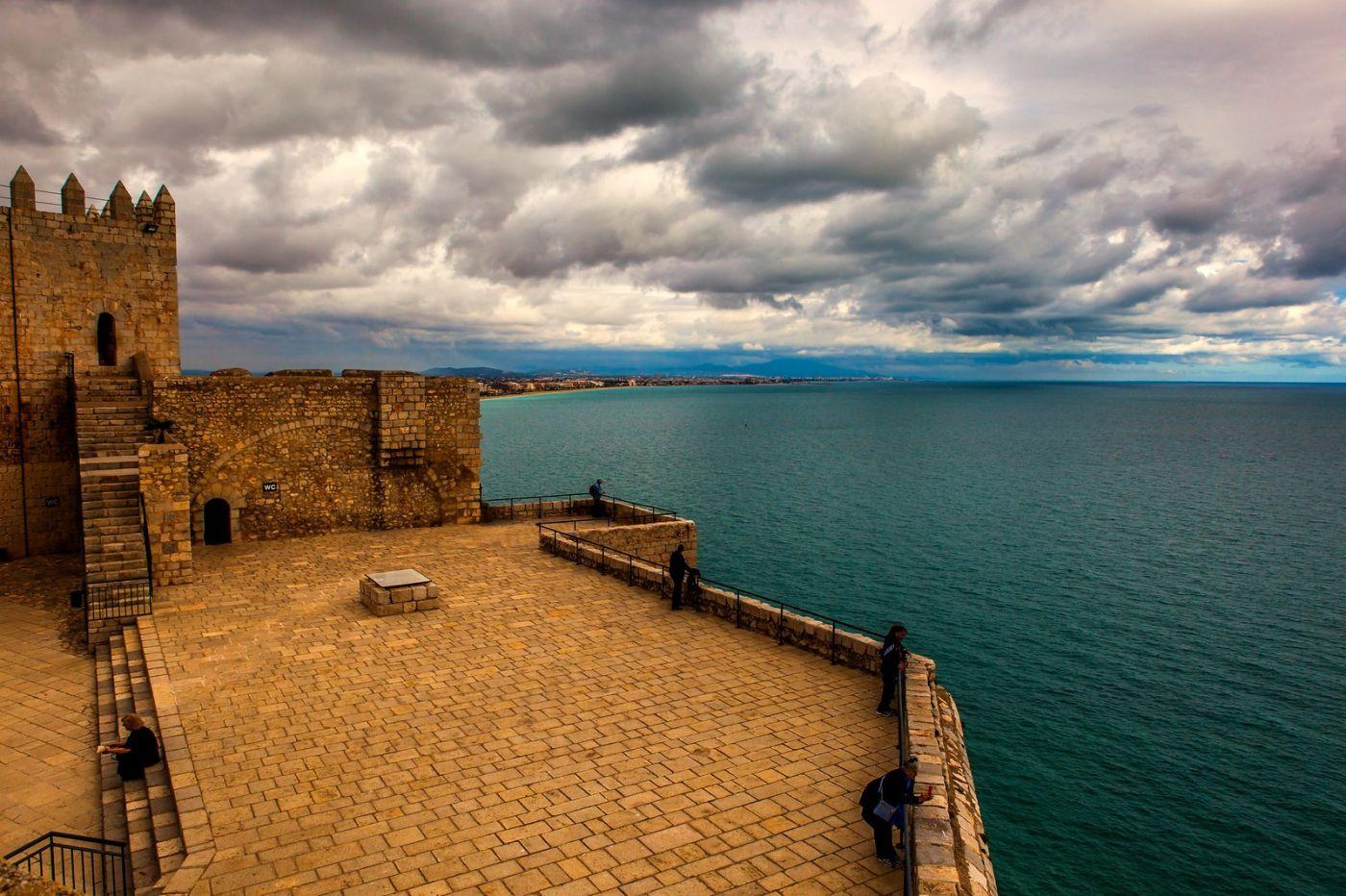西班牙佩尼伊斯科拉(Peniscola),海边的景色令人神往_图1-7