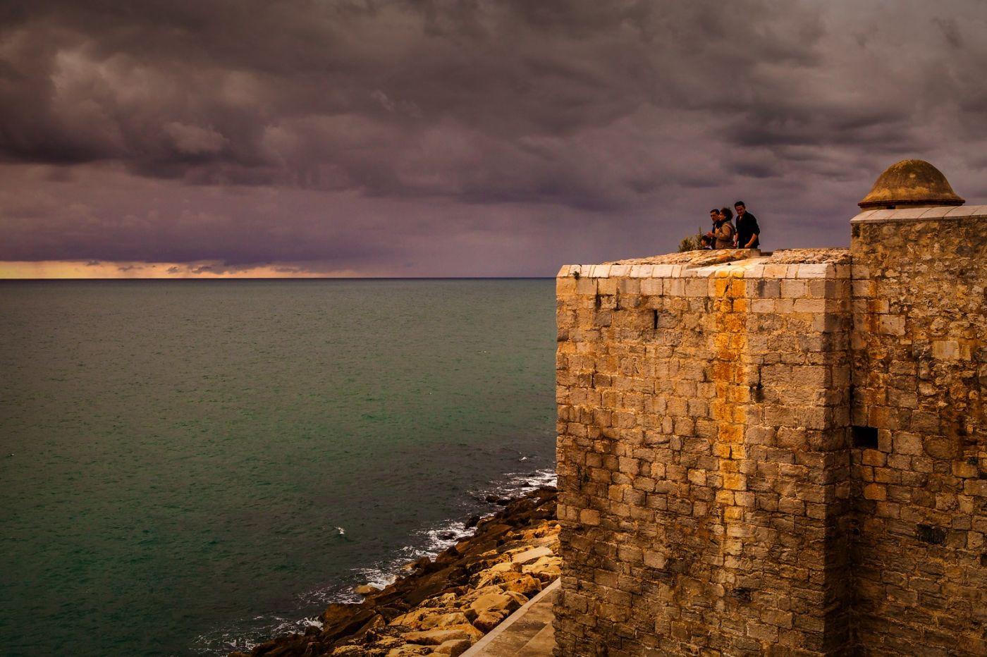 西班牙佩尼伊斯科拉(Peniscola),海边的景色令人神往_图1-8