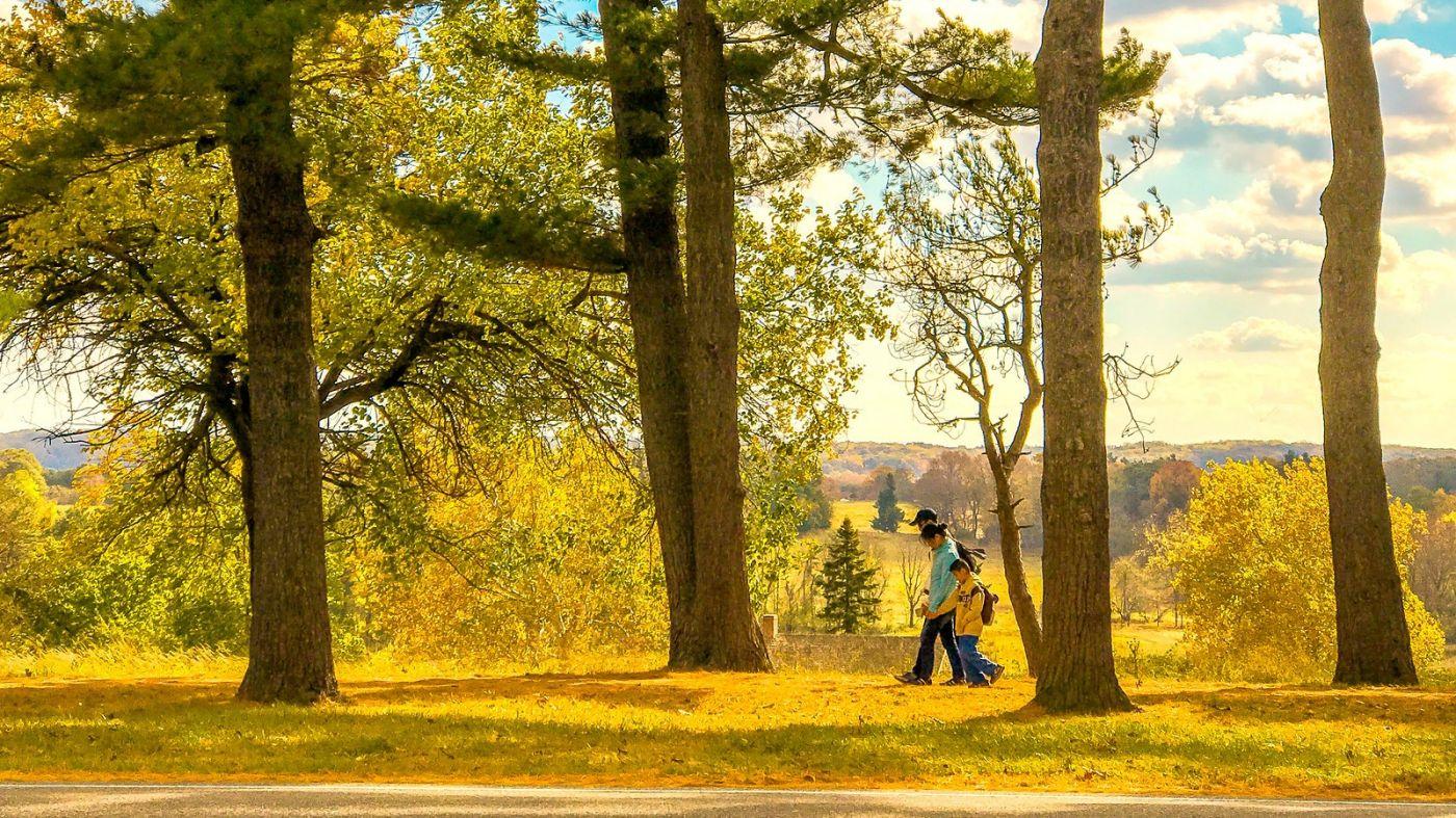 宾州的福吉谷,入秋的景色_图1-14