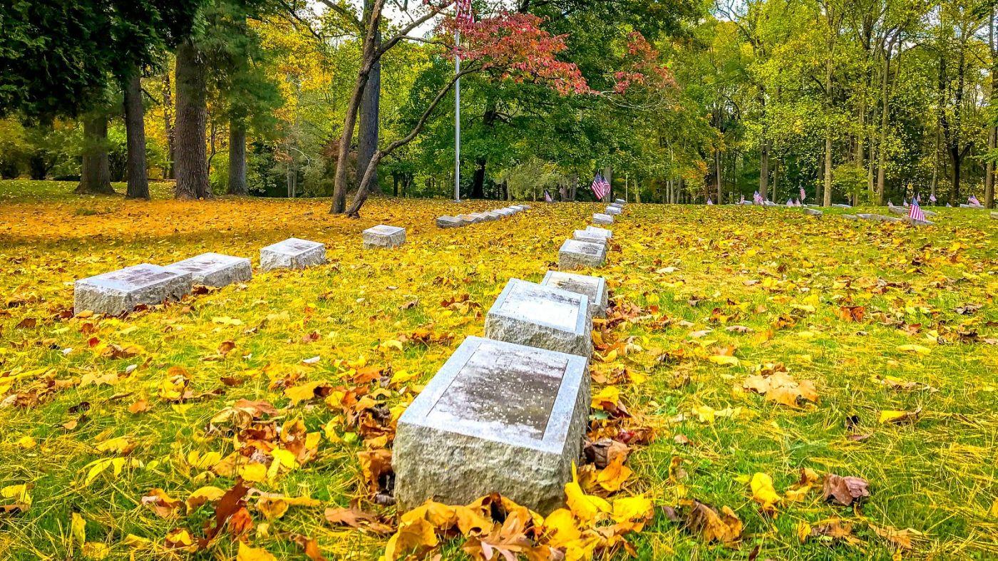宾州的福吉谷,入秋的景色_图1-1