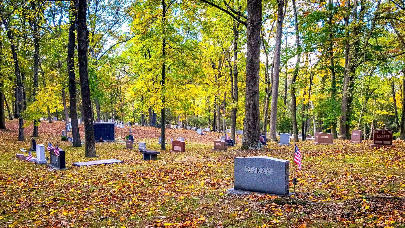 宾州的福吉谷,入秋的景色_图1-3