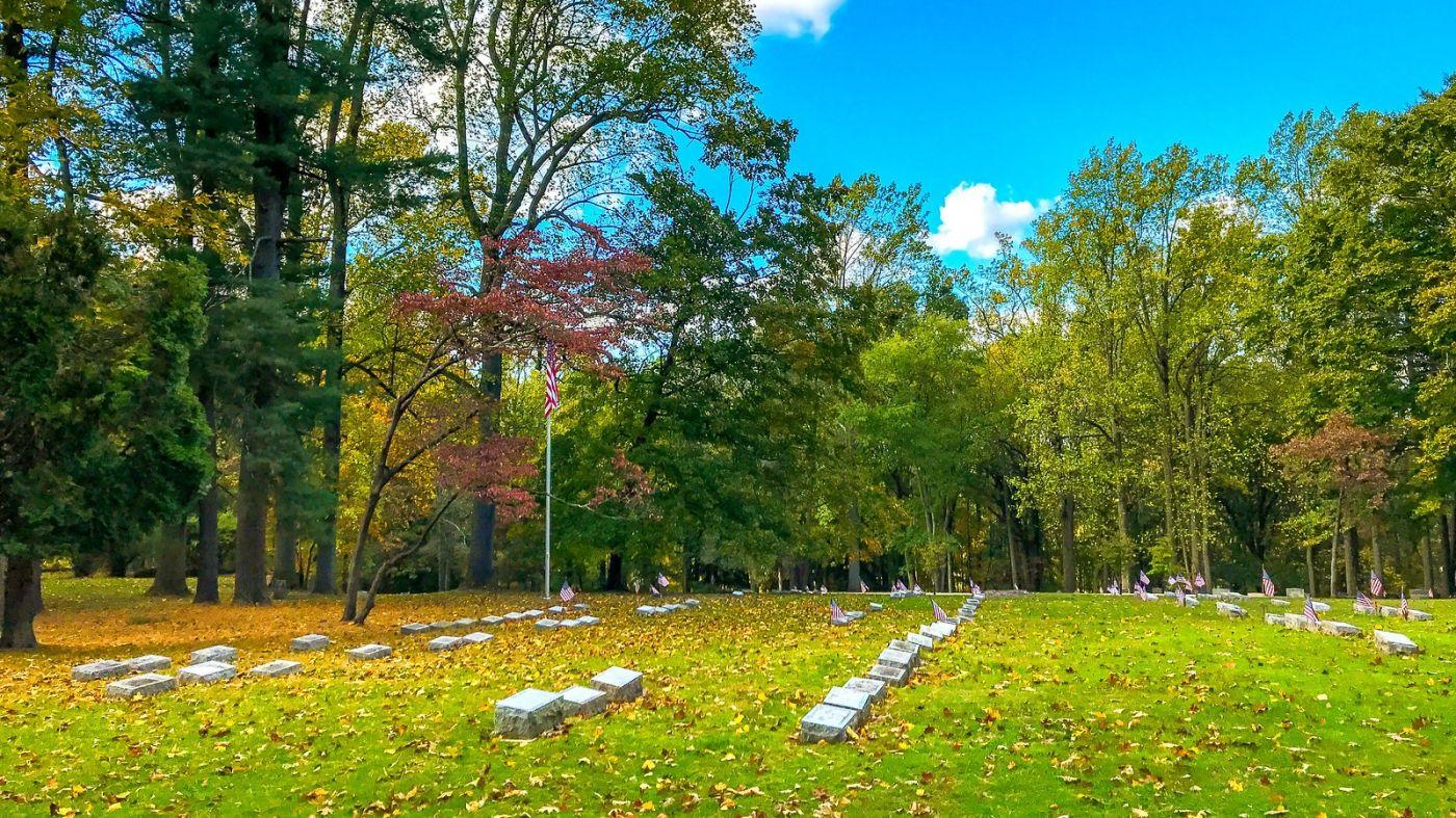 宾州的福吉谷,入秋的景色_图1-6