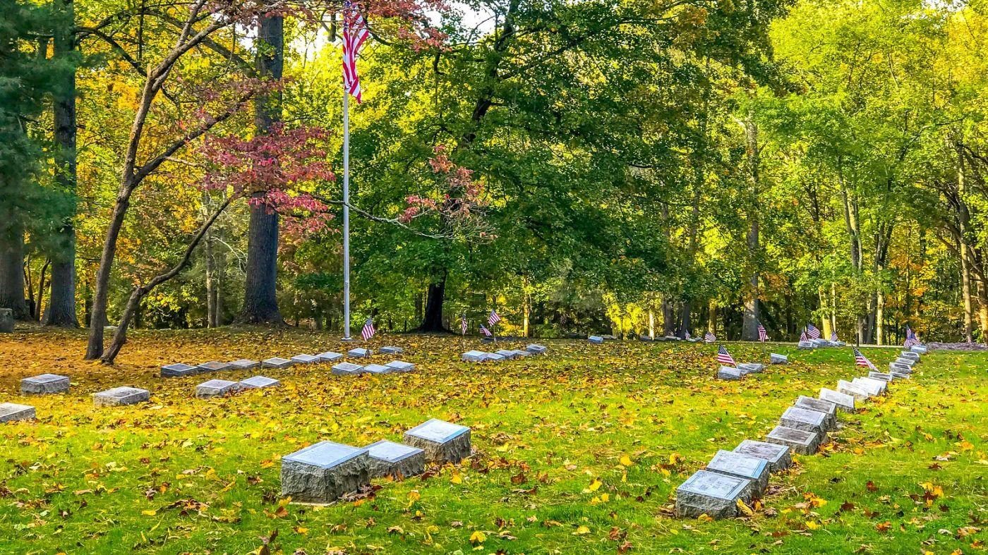 宾州的福吉谷,入秋的景色_图1-23