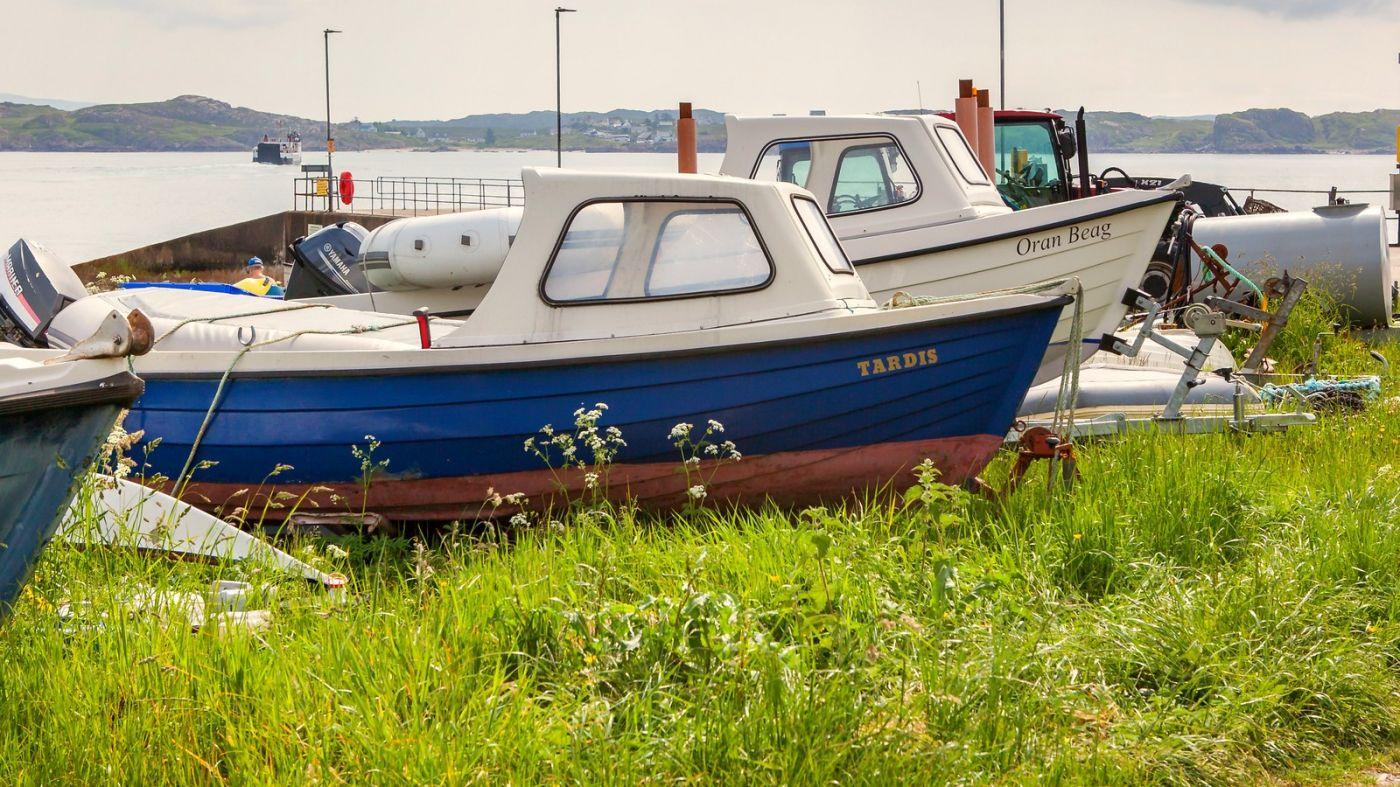 苏格兰见闻,海边的小红船_图1-7