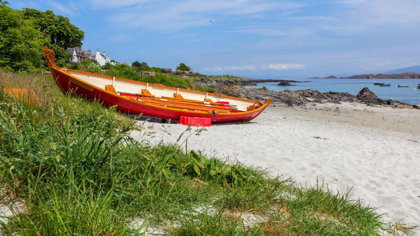 苏格兰见闻,海边的小红船_图1-12