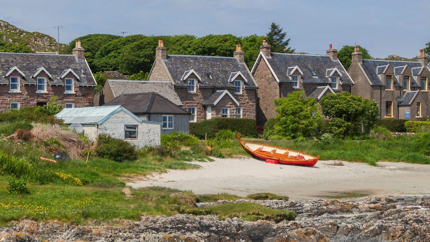 苏格兰见闻,海边的小红船_图1-9