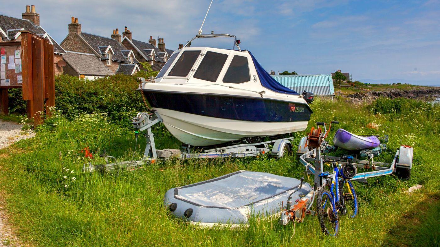 苏格兰见闻,海边的小红船_图1-11