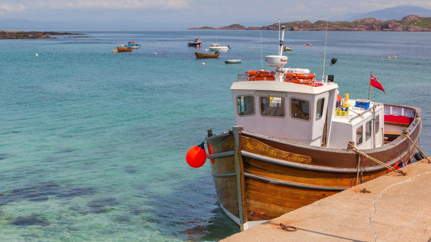 苏格兰见闻,海边的小红船_图1-13