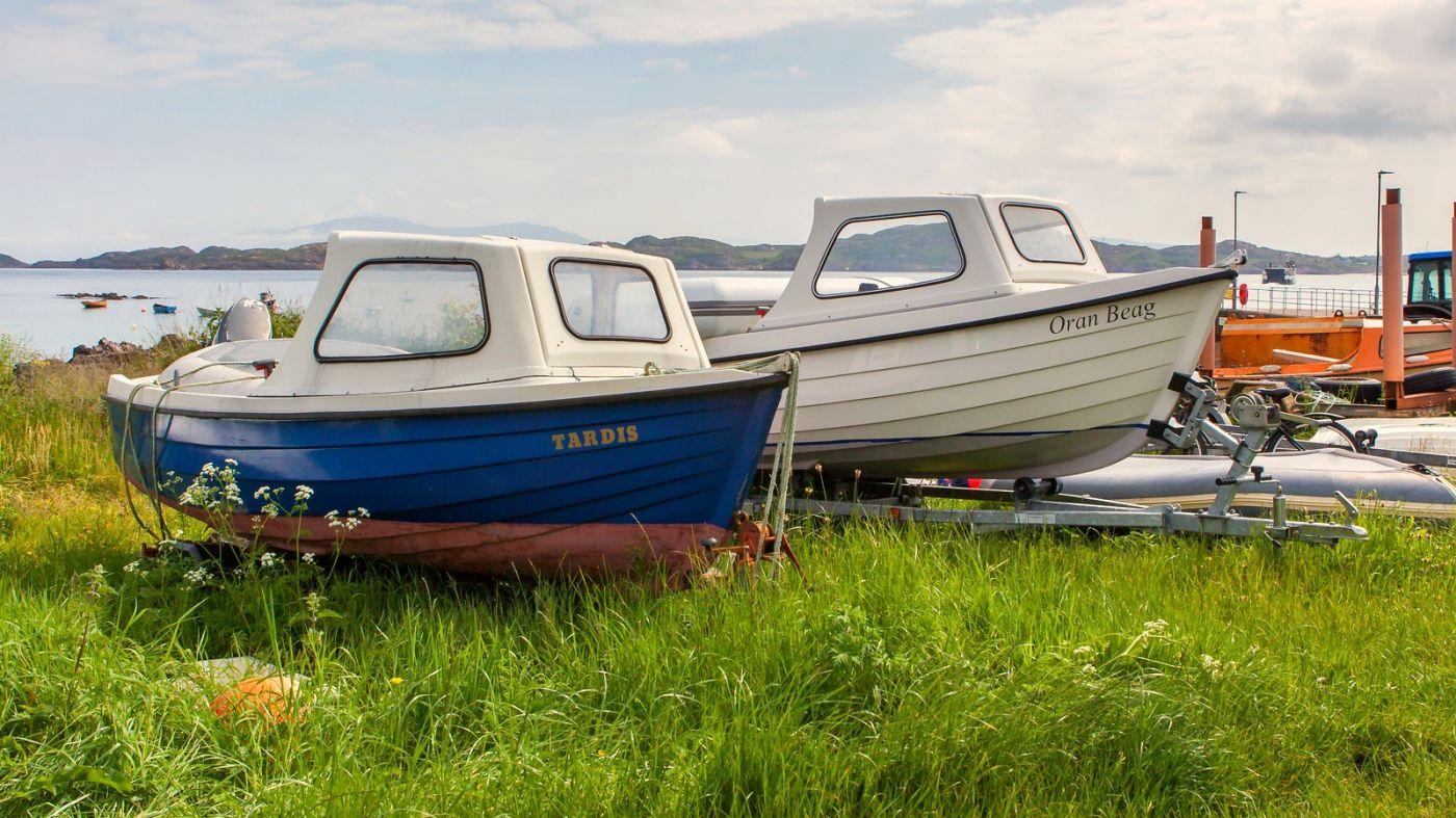 苏格兰见闻,海边的小红船_图1-15