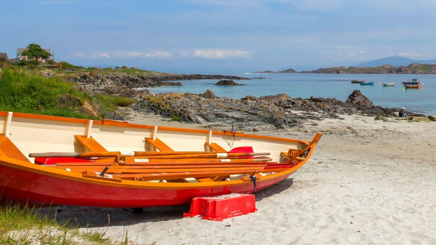 苏格兰见闻,海边的小红船_图1-14