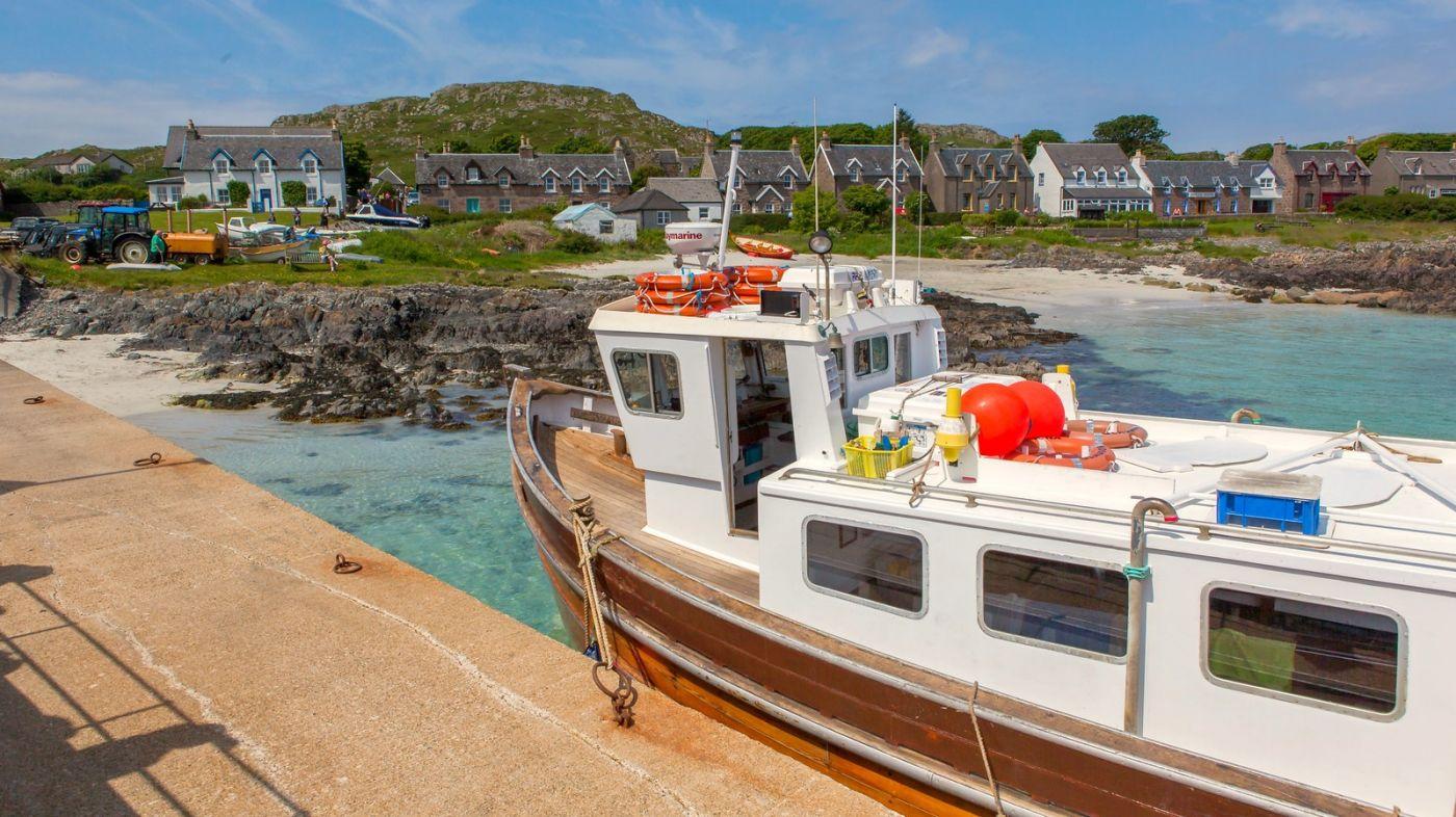 苏格兰见闻,海边的小红船_图1-19