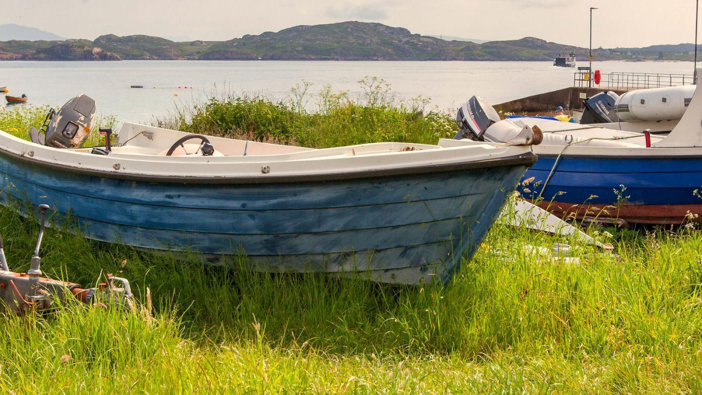 苏格兰见闻,海边的小红船_图1-18