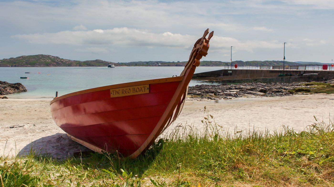 苏格兰见闻,海边的小红船_图1-17