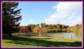 秋色满满的凯辛娜公园
