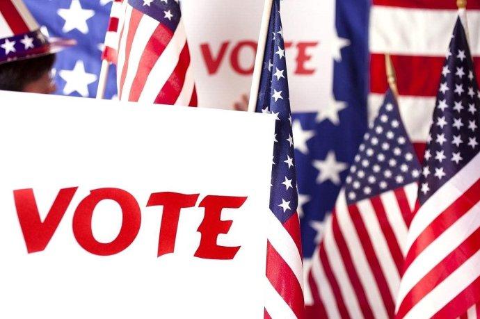 高娓娓:实拍美国中期选举投票日,美国人怎么投票_图1-1
