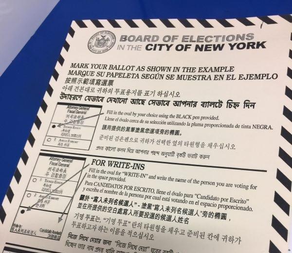 高娓娓:实拍美国中期选举投票日,美国人怎么投票_图1-8