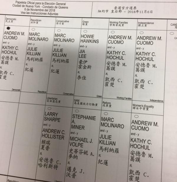高娓娓:实拍美国中期选举投票日,美国人怎么投票_图1-9