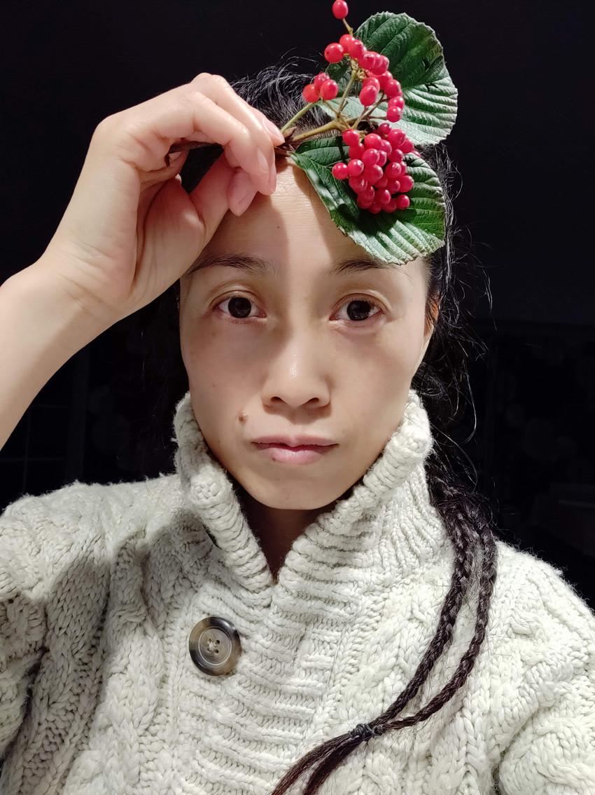 【邝幸戴花】立冬了_图1-4