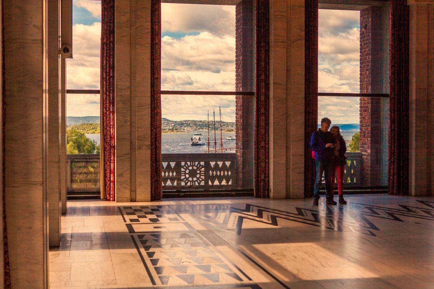 挪威奥塞罗市政厅,走进世纪建筑_图1-11