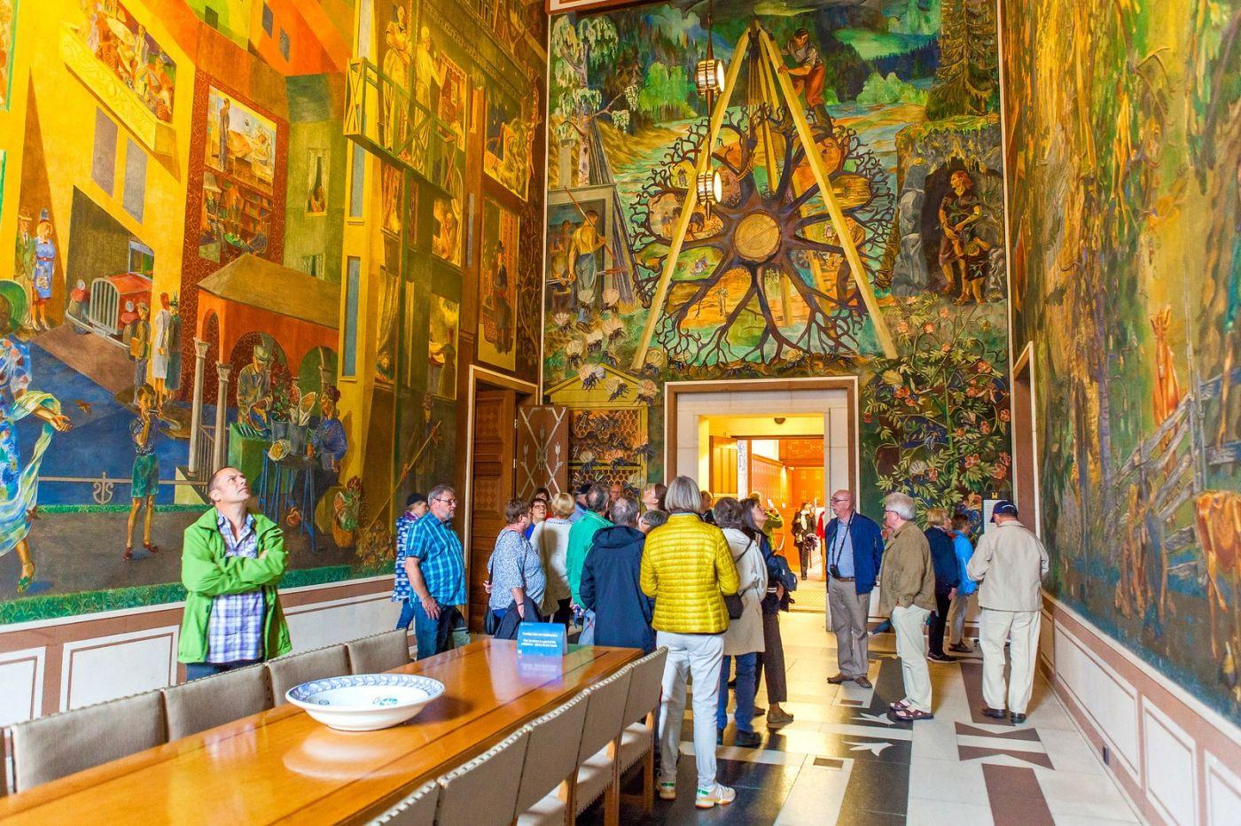 挪威奥塞罗市政厅,走进世纪建筑_图1-16