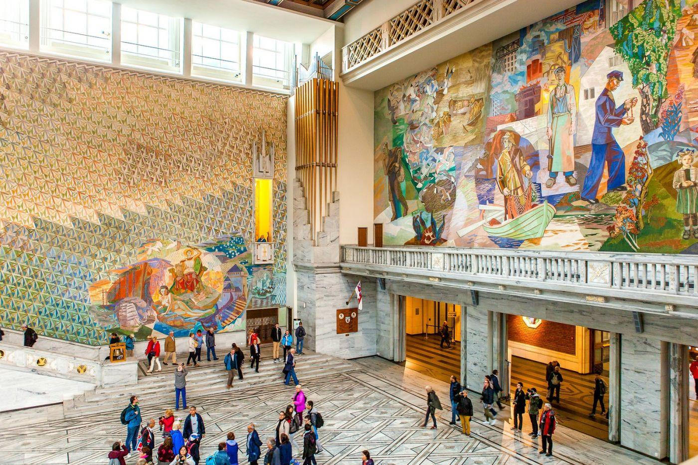 挪威奥塞罗市政厅,走进世纪建筑_图1-9