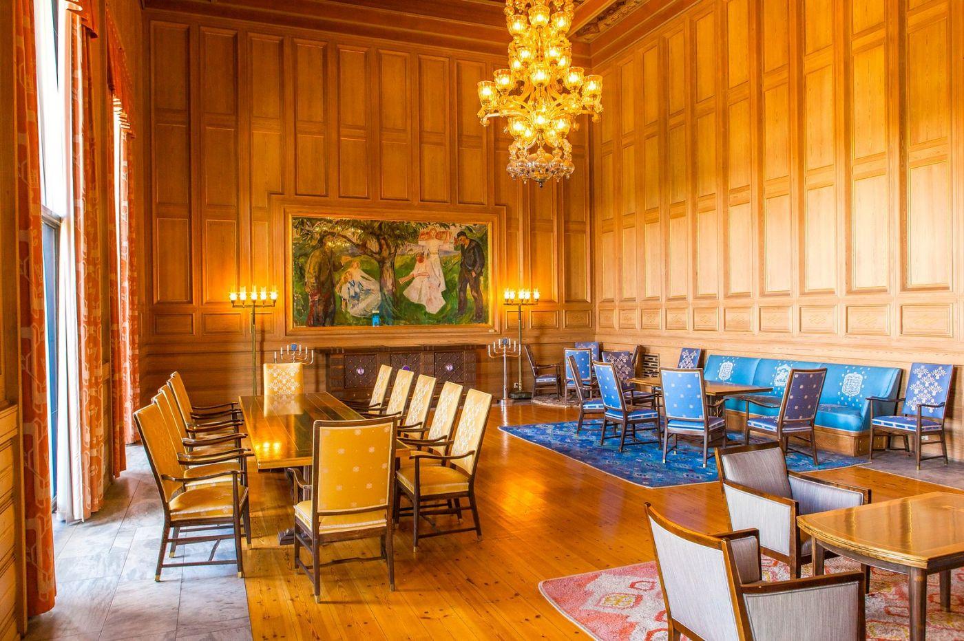 挪威奥塞罗市政厅,走进世纪建筑_图1-6