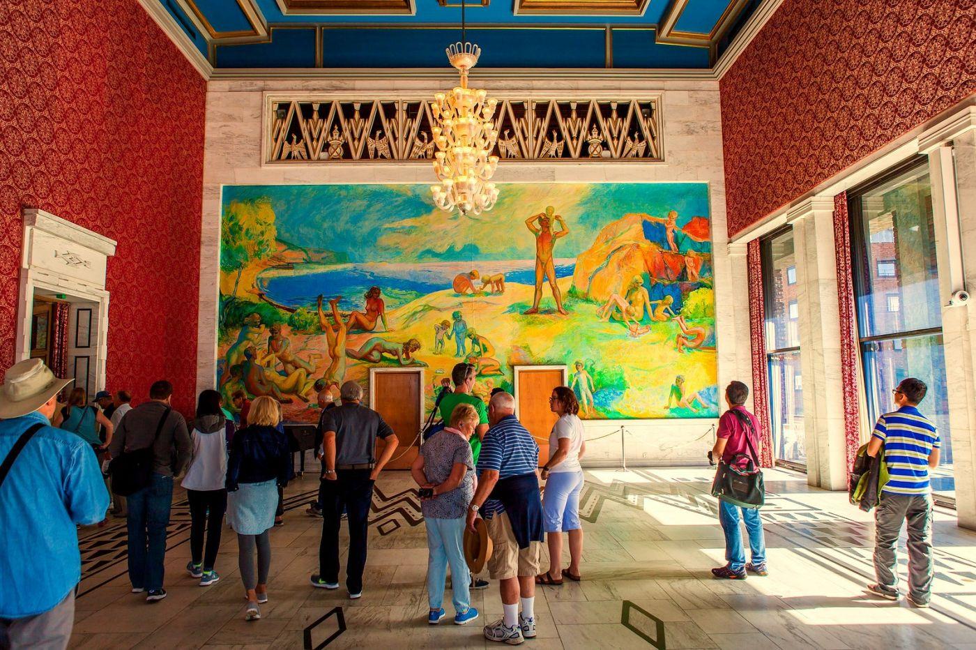 挪威奥塞罗市政厅,走进世纪建筑_图1-8