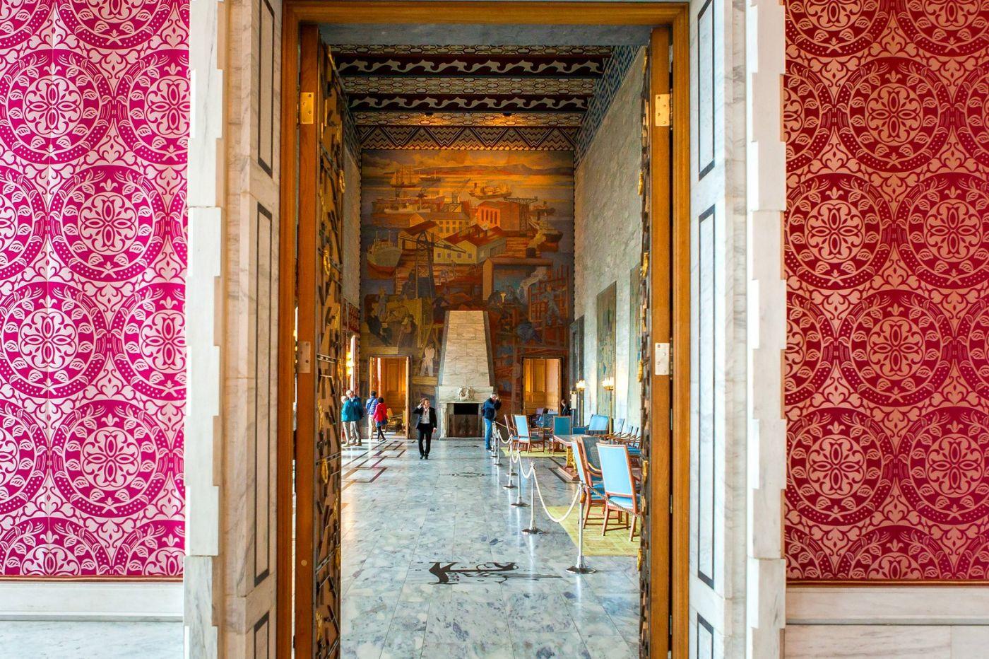 挪威奥塞罗市政厅,走进世纪建筑_图1-4