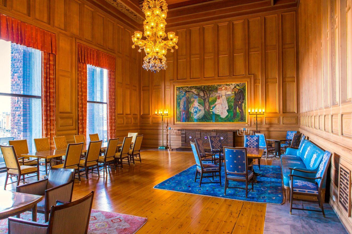 挪威奥塞罗市政厅,走进世纪建筑_图1-3