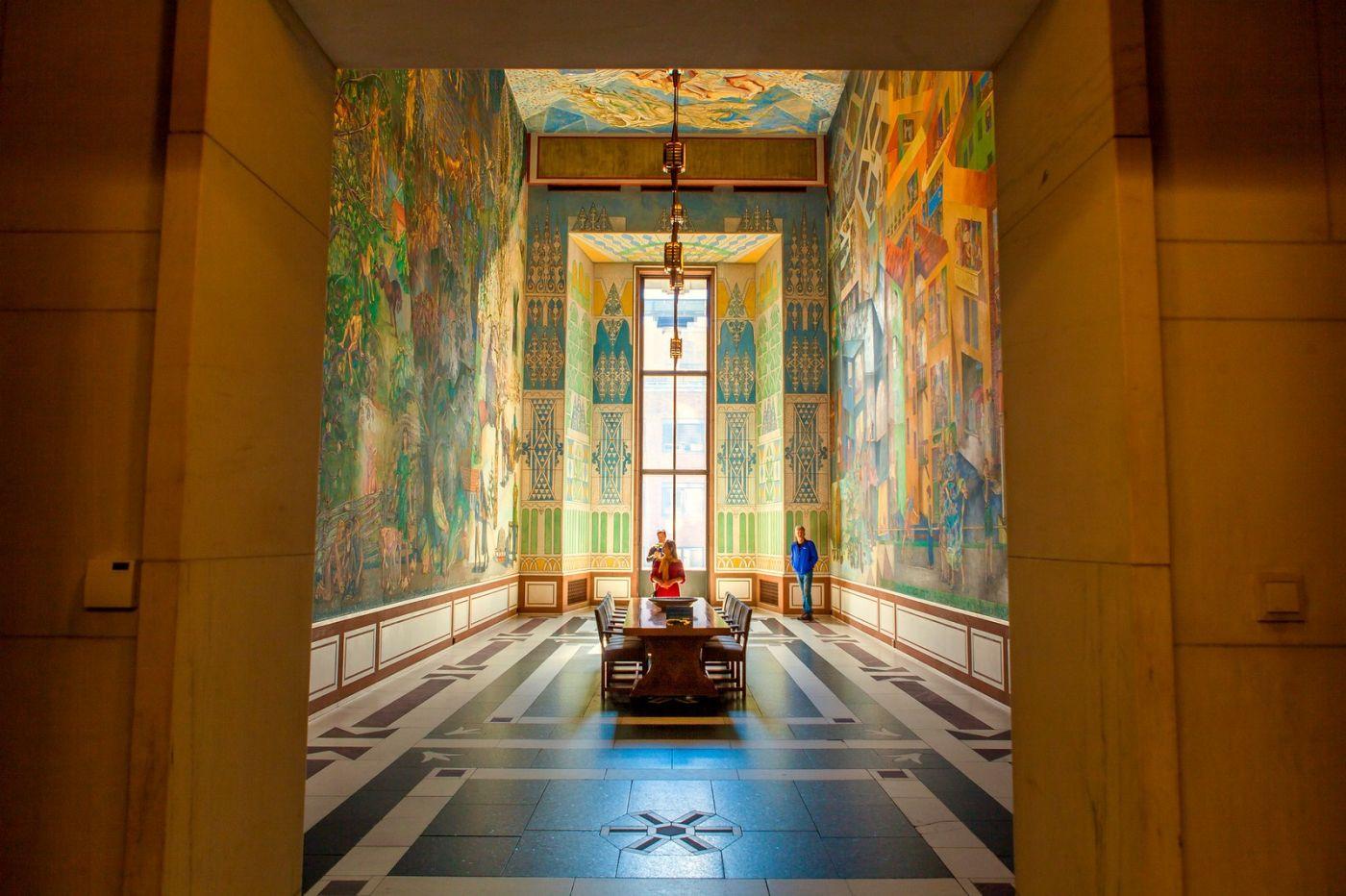 挪威奥塞罗市政厅,走进世纪建筑_图1-2